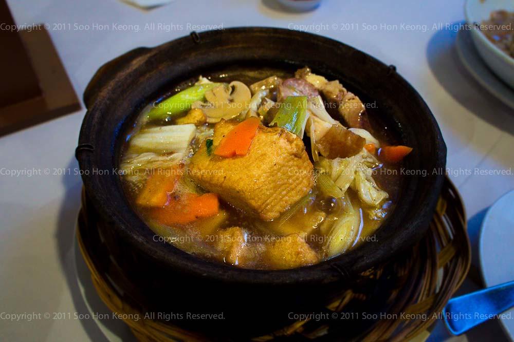 Claypot Tofu @ Hakka Restaurant, KL, Malaysia