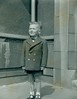 Glenn McCreath outside Cranhill Church 1961