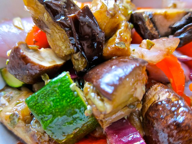 Oven Grilled Veg