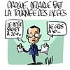 Drogue, Jean-Luc Delarue fait la tournée des lycées
