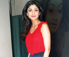 Casual chic  For a spa launch (Film Street Journal) Tags: shilpashetty