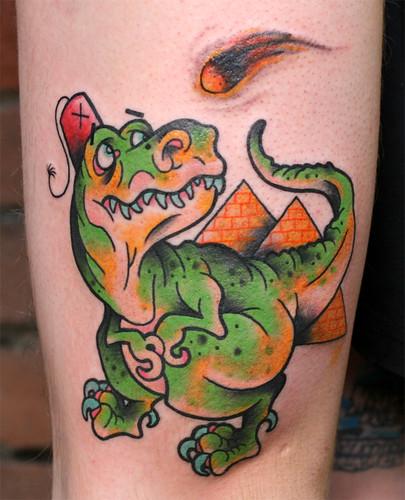 Joey's T-rex medley