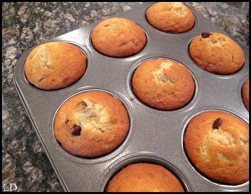 banana chocolate chip muffins1