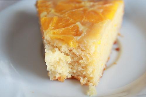 Torta con yogurt e arance