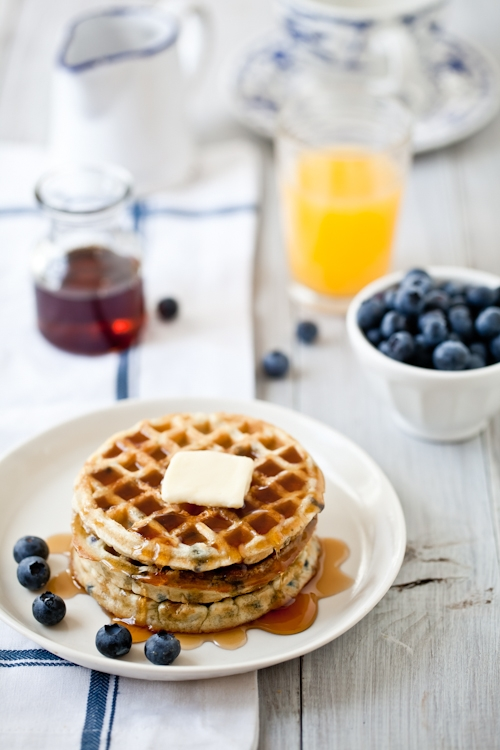 Sundays are good for waffles...