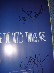 Where the Wild Things Are Spike Jonze Autograph (www.autograph-database.com) (www.autograph-database.com) Tags: sketch drawing doodle autograph database wherethewildthingsare signed mauricesendak spikejonze autographdatabase