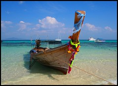 Colour! (konstantynowicz) Tags: sea beach thailand asia longtail doublyniceshot tripleniceshot mygearandme mygearandmepremium mygearandmebronze mygearandmesilver mygearandmegold mygearandmeplatinum mygearandmediamond blinkagain