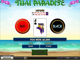 free Thai Paradise slot gamble feature