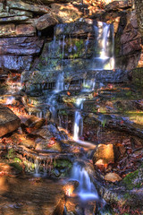 Nebo Falls (jball359) Tags: statepark water canon outdoors waterfall hiking saturation slowshutter softfocus arkansas hdr xsi circularpolarizer dardanelle mountnebo promaster photomatix lglass neutraldensity nd4 1740mmf4lusm niksoftware filterstacking topazadjust spicified mygearandme pse9 photoshopelements9