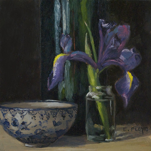 20110213 iris bowl and bottle 6x6