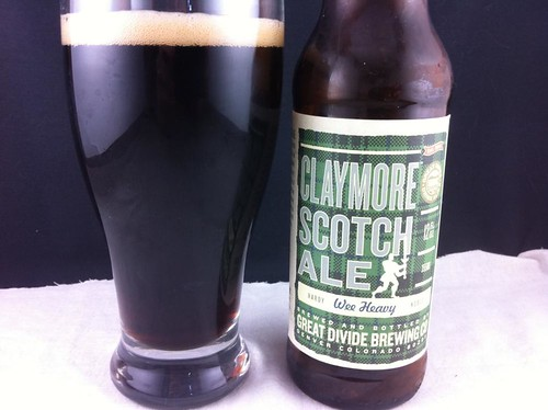 5497495578 683f3fe7b4 Great Divide Brewing Co.   Claymore Scotch Ale *