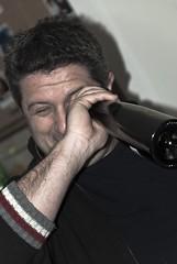 la speranza  l'ultima a morire (g_u) Tags: people flickr foto gente persone lorenzo angela amici gu compleanno lucio ugo bottiglia internationalexposition finita mugna 532011
