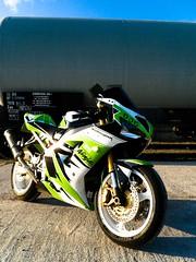 Kawasaki ZX-6R STC edition (StriciKanegér) Tags: 2005 2003 green 2004 st out mod ninja quality samsung 2006 burn 600 stc 500 custom kawasaki exhaust paintjob zx footage zx6r 636 zx636 leovince monsterslip procejct