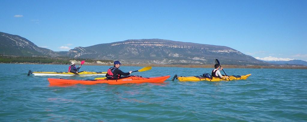 Pantano de Yesa en kayak 038