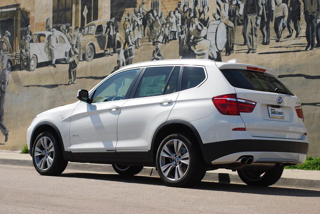 BMW X I In Alpine White - 2014 bmw x3 35i