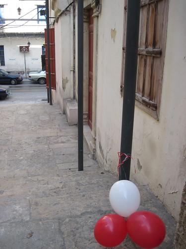 Balloons in Gemmayzeh