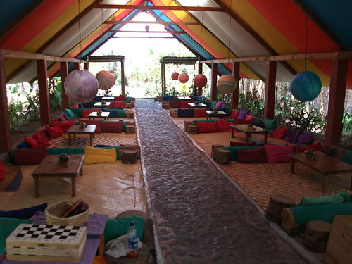 Zoola restaurant, Lake Atitlan, Guatemala