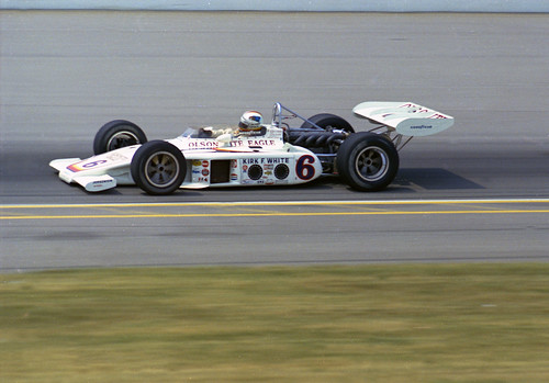 Bobby Unser runs in 1972