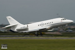 LX-ATD - 603 - Private - Dassualt Falcon 2000DX - Luton - 100526 - Steven Gray - IMG_2689