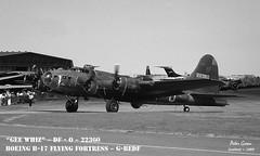 B-17 ~ G-BEDF ~ Coded : DF-O ~ 02 (Memphis_Belle_1989) Tags: b17 duxford flyingfortress dfo 22360 geewhiz gbedf egsu 4485784 memphisbellemovie