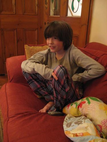 Cam's new pyjamas