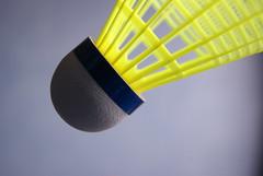 Shuttle (Jdolky) Tags: bird sports sport birdie sony plastic shuttle yonex badminton shuttlecock a230 racketsport jdolky jeffreydolkens