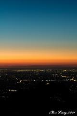 Melbourne - Twilight (Chiu Kang) Tags: longexposure sunset colors night canon landscape lights golden twilight cityscape darkness australia melbourne hour cpl 2470mm skyhigh f28l 60d