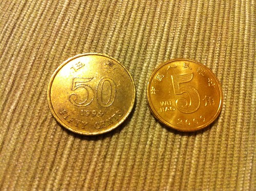 HK & Mainland China 50 Cents