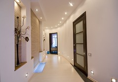 modern interior (Northfield Property) Tags: lighting door homes light white reflection building window wall comfortable architecture modern tile table carpet design hall construction waiting doors