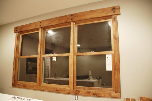 You may have seen this window in the latest DIY house addition update