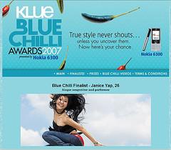 Klue Blue Chilli - Janice Yap