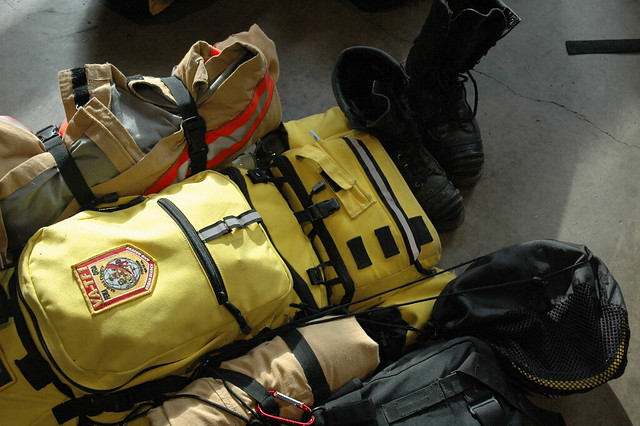 Photo of search and rescue equipment.