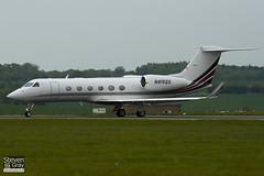 N415QS - 4014 - Netjets - Gulfstream G450 - Luton - 100519 - Steven Gray - IMG_2373