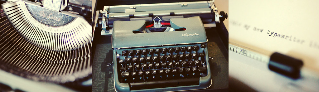 vintage typewriter by PhotKing â™›, on Flickr