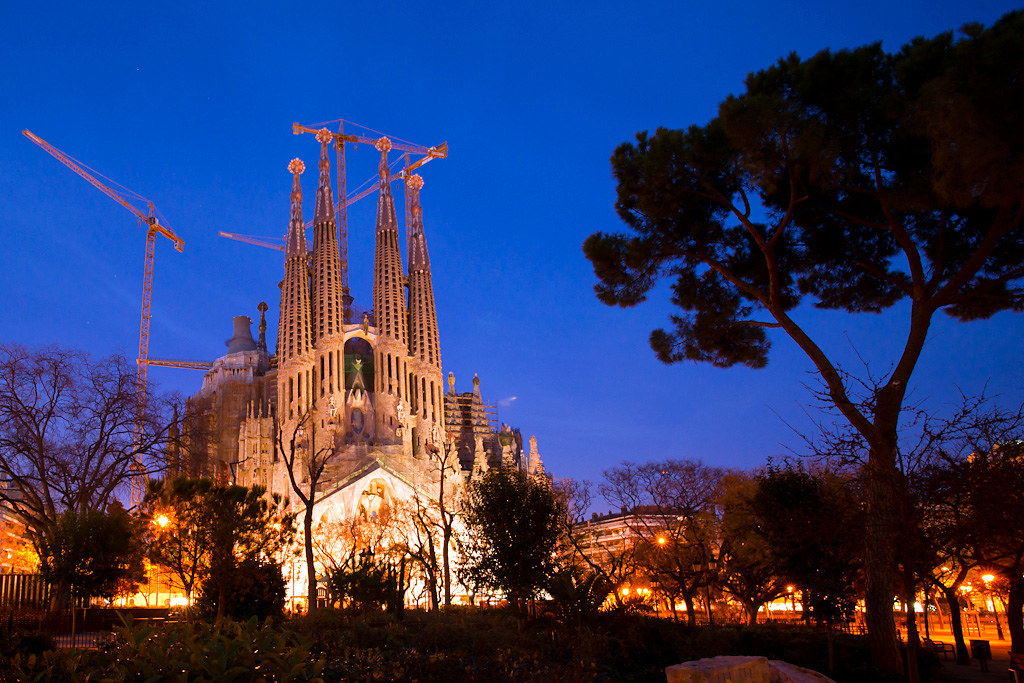 Sagrada Familia - Night Shot 2
