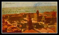 Valparaiso 1930 adelante,  la catedral en construccion (santiagonostalgico) Tags: chile santiago urbano antiguo patrimonio santiagonostalgico