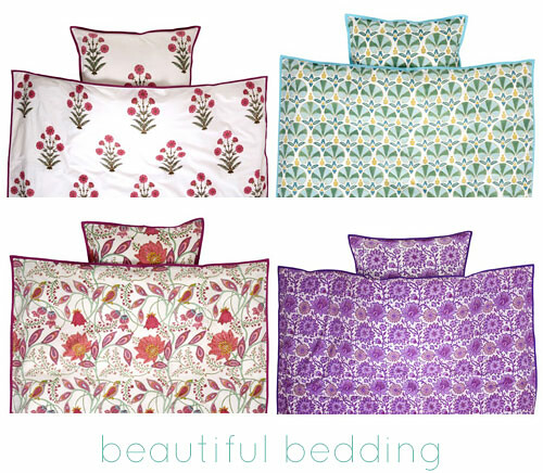 Beutiful bedding by Bungalow