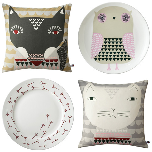 Donna Wilson New Cushions & Ceramics for 2011