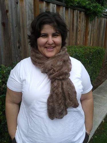 modeling my alchemy scarf