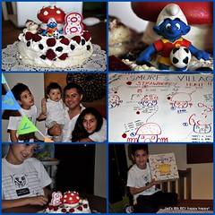 8th Birthday (Kikilota) Tags: birthday party cake celebration smurfs