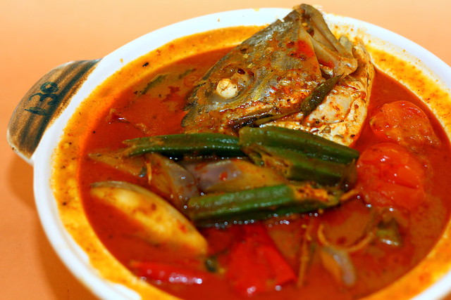 Old Airport Road Curry Fish Head 048