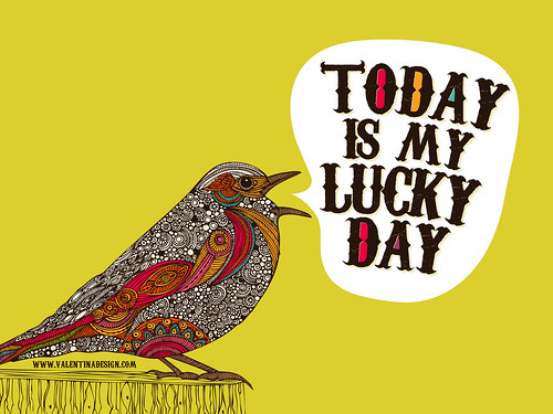 Wallpaper - Today is my Lucky day