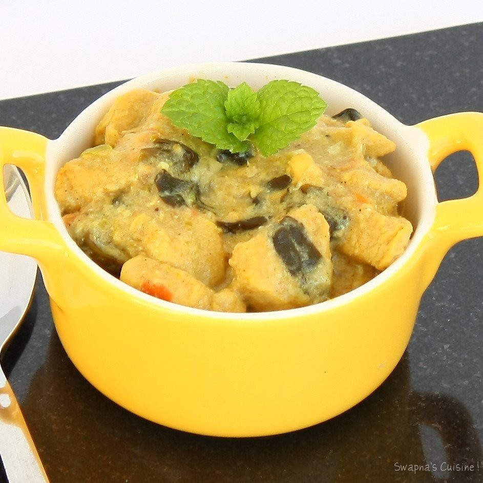 Murgh Methi Malai / Chicken in Creamy Fenugreek Sauce