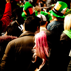 Pink/Green (lakesly) Tags: ireland dublin parade stpatricksday imagespace:hasdirection=false