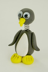 Penguin Bobble Buddy by CraftyGoat
