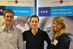 Voorlichtingsteam studenten Small Business en Retail Management (HAN)