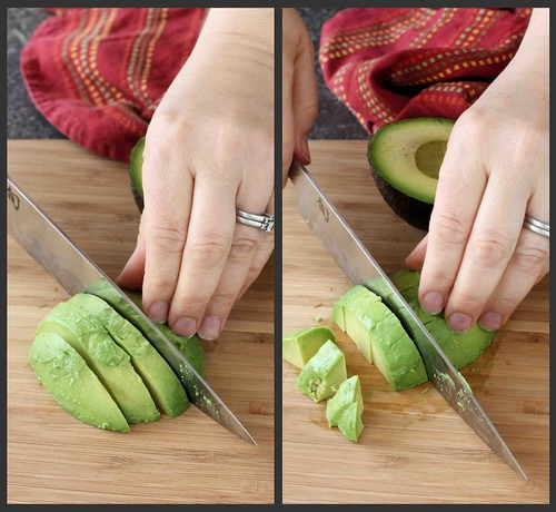 How to: Prepare an Avocado Collage 3