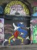 Airborne Mark - Dance yourself Celestial (surreyblonde) Tags: streetart london graffiti spray waterloo cans tunnels thepilot leakestreet waterlootunnel airbornemark airbournemark