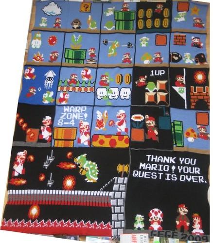 Mario blanket whole