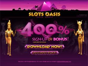 Slots Oasis Casino Home